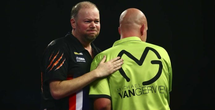 Michael van Gerwen - Raymond van Barneveld WK Darts wedden bookmakers voorspellingen darten Getty