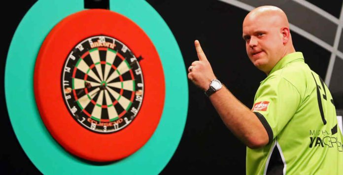 Michael van Gerwen Dutch Darts Masters wedden bookmakers Maastricht Getty