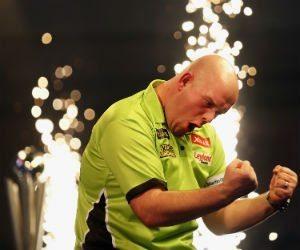 wedden op darts Michael van Gerwen