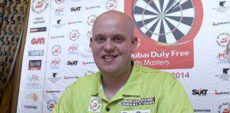 Michael van Gerwen halve finale sydney darts masters