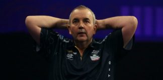 Phil Taylor winnaar finale Champions League of Darts Getty