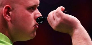 Michael van Gerwen wint World Grand Prix 2016 finale met 5-2 Getty