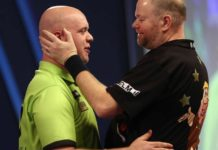 Voorspellen Darts Michael van Gerwen - Raymond van Barneveld live streaming Getty
