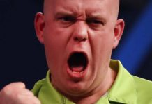 finale WK Darts live Michael van Gerwen - Gary Anderson Getty