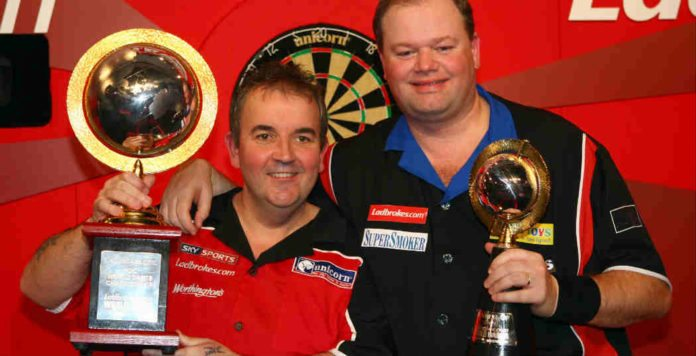 Premier League of Darts live: Raymond van Barneveld - Phil Taylor wedden Getty