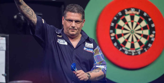 Gary Anderson niet op Premier League Darts 2019 | Getty