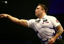 Darts donderdag 2 mei: Thriller James Wade – Gerwyn Price Premier League Darts 14 | Getty