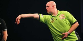 EK Darts live vandaag: Michael van Gerwen - Jan Dekker weddenschappen darten voorspellingen Getty