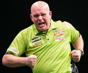 Premier League Darts michael van gerwen | Getty