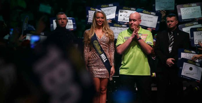 WK Darts Michael van Gerwen Vincent van der Voort weddenschappen bookmakers Getty