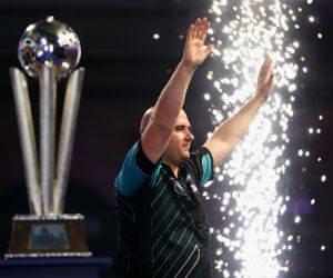Rob Cross Masters darts 2018 Getty