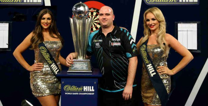 Rob Cross winnaar WK Darts 2018 bookmakers Getty