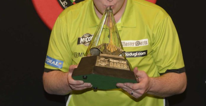 Bookmakers Premier League Darts: Michael van Gerwen - Rob Cross live Getty