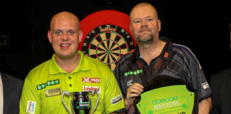 Raymond van Barneveld - Michael van Gerwen Premier League Darts voorspellingen bookmakers Getty