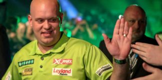Premie League play offs wedden Michael van Gerwen bookmakers | Getty