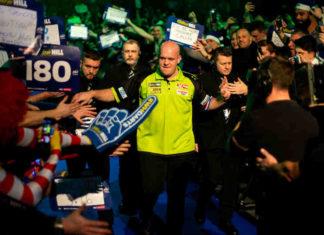 Finale WK Darts 2019: Michael van Gerwen - Michael Smith voorspellingen bookmakers gokken | Getty