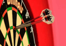 World Grand Prix tweede ronde: Michael van Gerwen - Devon Petersen