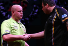 Michael van Gerwen - Adrian Lewis WK Darts: bookmakers wedden voorspellingen | Getty