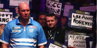 Live WK Darts: Vincent van der Voort vandaag tegen Chris Dobey | Getty