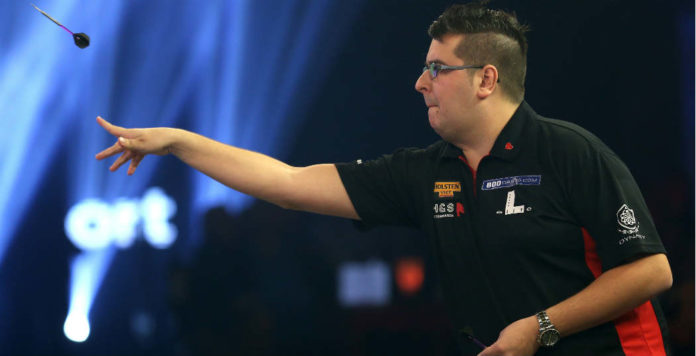 Bookmakers Willem Mandigers vandaag in actie op Lakeside | Getty