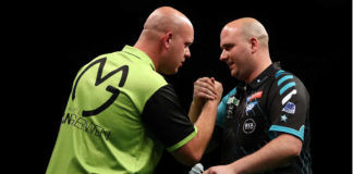 Voorspellingen bookmakers darten: versterkt Rob Cross leiding Premier League Darts klassement? | Getty