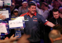 Mensur Suljovic verdedigt titel op German Darts Masters 2019 | Getty