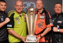 Start WK Darts 2020: Michael van Gerwen tegen Klaasen of Burness
