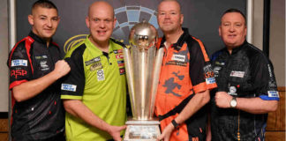 Start WK Darts 2020: Michael van Gerwen tegen Klaasen of Burness