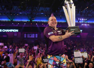 Peter Wright darts