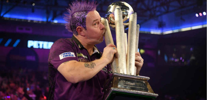 Peter Wright winnaar WK Darts 2020