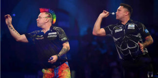 Premier League Darts 4: vuurwerk met Gerwyn Price - Peter Wright