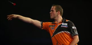 Dirk van Duijvenbode - Gerwyn Price finale World Grand Prix darts