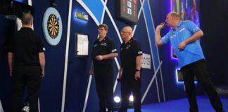 WK Darts 2021 Vincent van der Voort - Daryl Gurney en Dirk van Duijvenbode - Glen Durrant