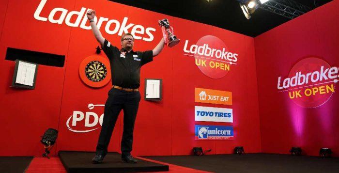 Speelschema UK Open Darts