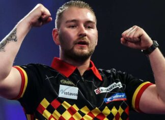 Blik tijdens Judgement Night Premier League Darts al op play-offs