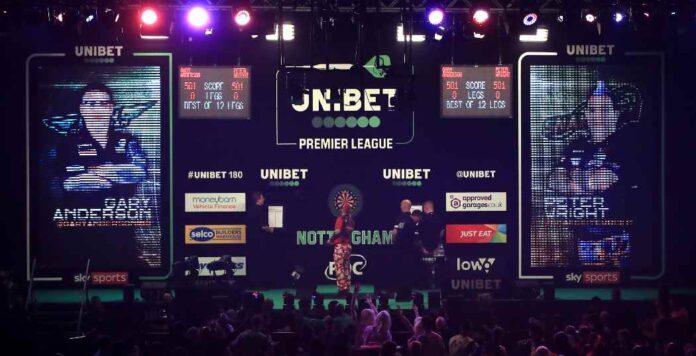 Laatste wedstrijden Premier League Darts richting play offs